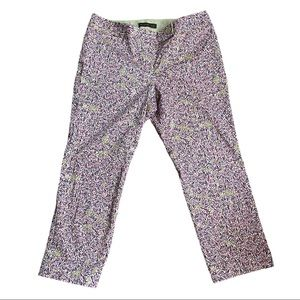 The Limited Drew Fit Floral Capris Size 10